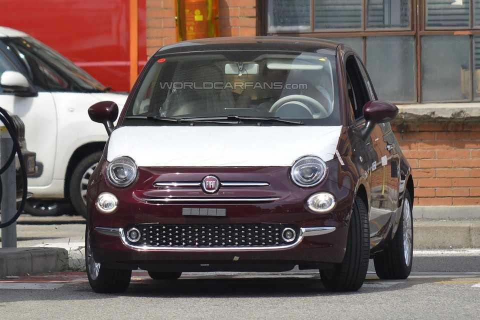 Flagra do Fiat 500 2016