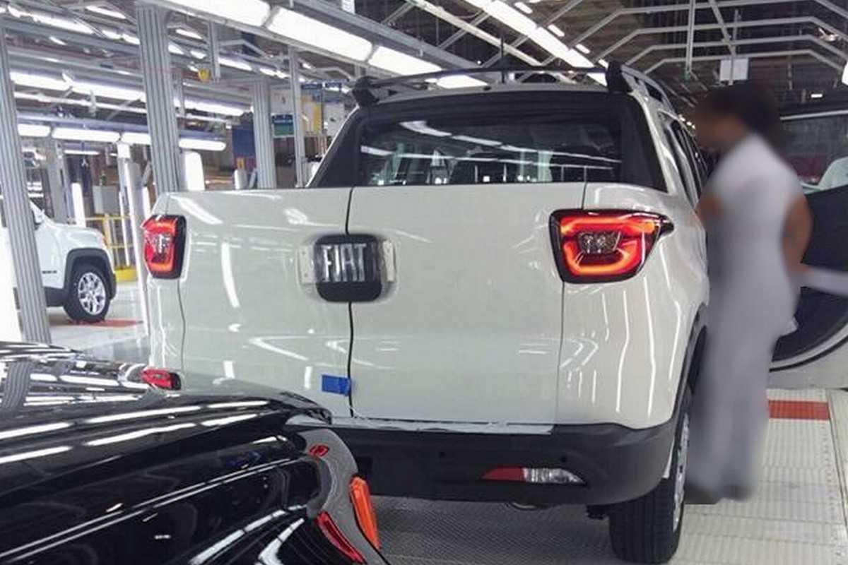 Fiat Toro na fábrica de Goiana (PE)