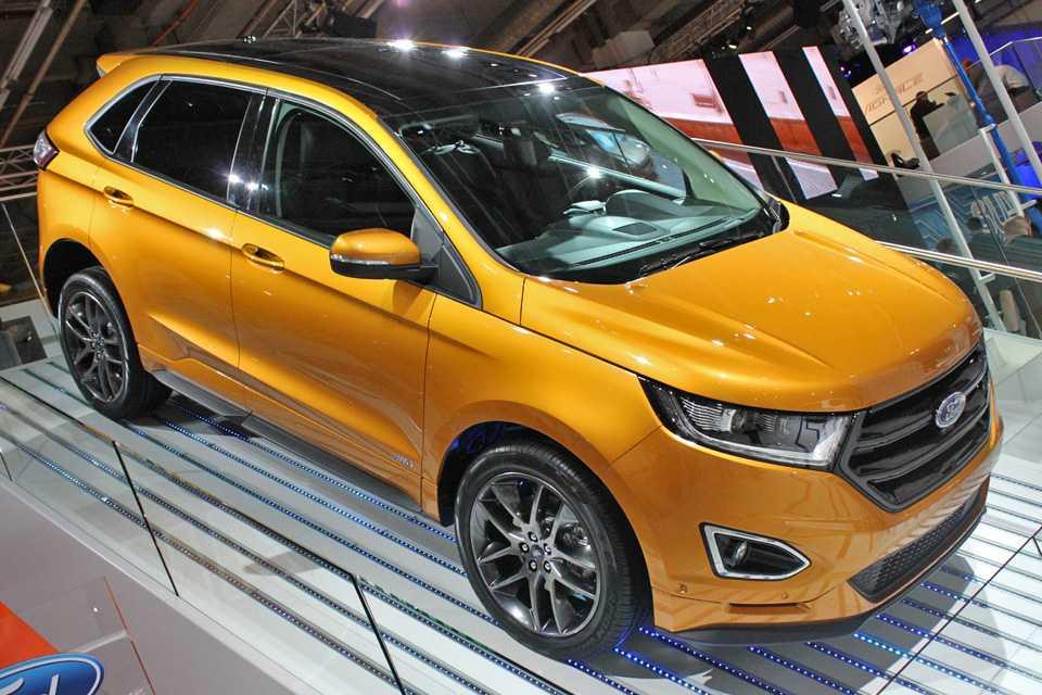 Novo Edge no estande da Ford em Frankfurt