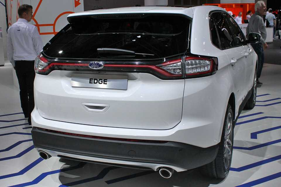 Novo Edge no estande da Ford em Frankfurt