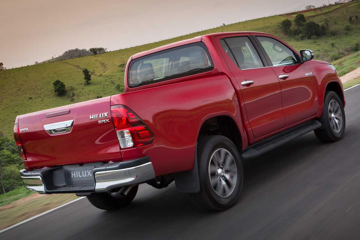 Picape é a mais vendida no Brasil com motor diesel