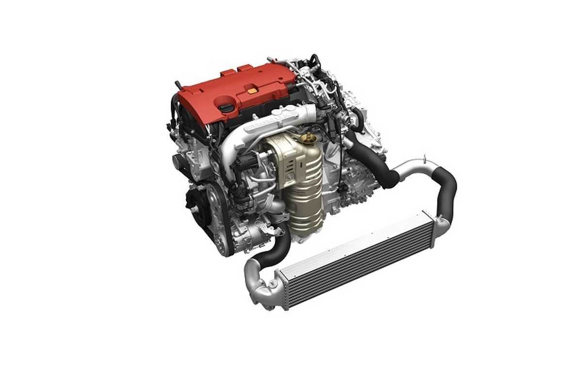 Motor 2.0 VTEC Turbo da Honda