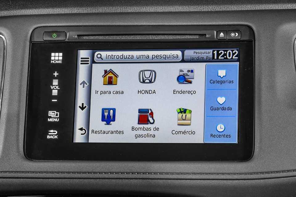 Central multimídia do EX-L vem com sistema RDS, que traz informações do trânsito em SP, RJ, BH e Brasília