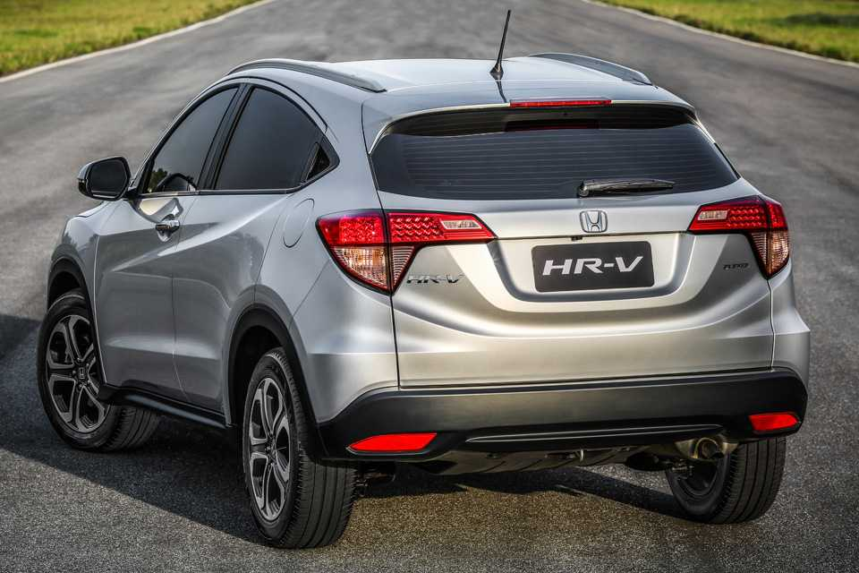 Porta-malas espaçoso do HR-V o distancia do EcoSport