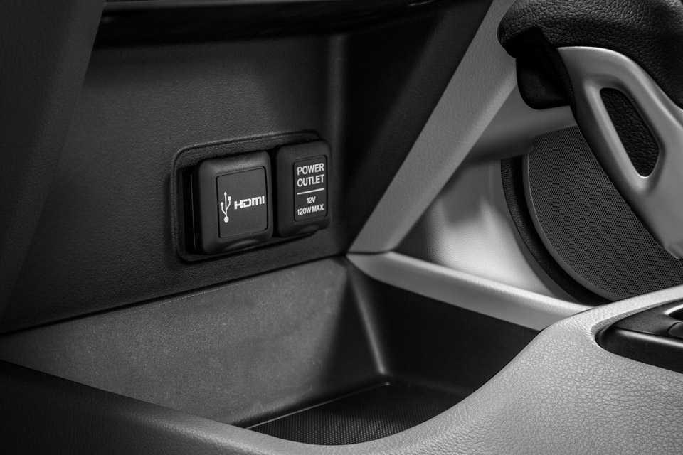 Ainda como novidade foi incorporada a entrada HDMI que permite a reprodução de áudio, vídeo e imagens em alta definição