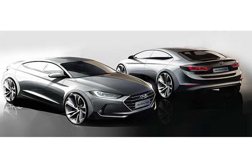 Teaser do novo Hyundai Elantra
