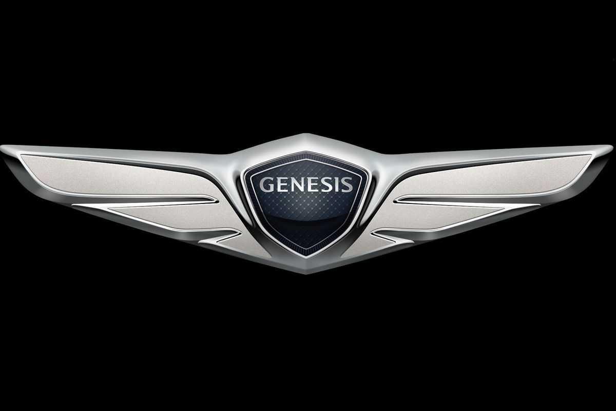 Logo da Genesis, marca de luxo da Hyundai