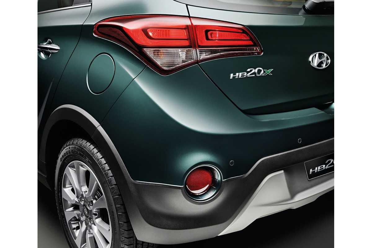 Hyundai HB20X 2016