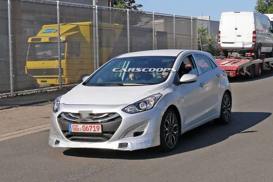 Flagra do Hyundai i30 N