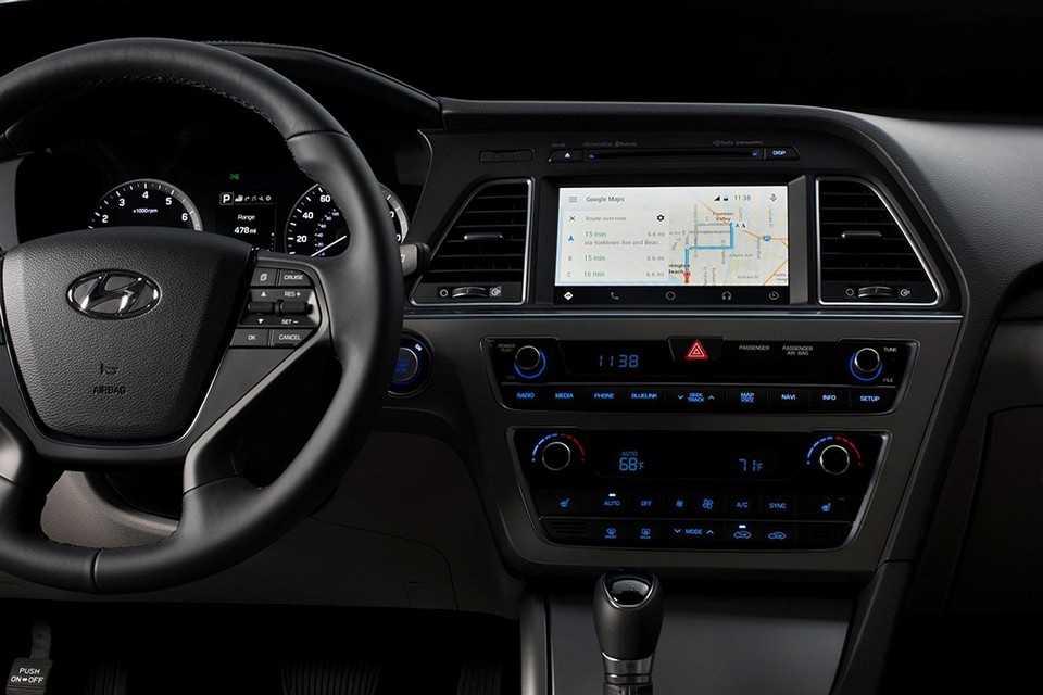 Hyundai Sonata com sistema Android Auto