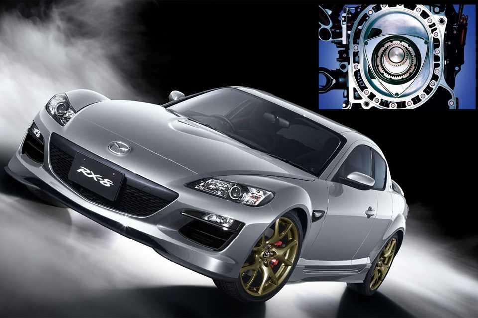 Motor rotativo do Mazda 8: a marca insiste na configuração mas só ela a leva a sério