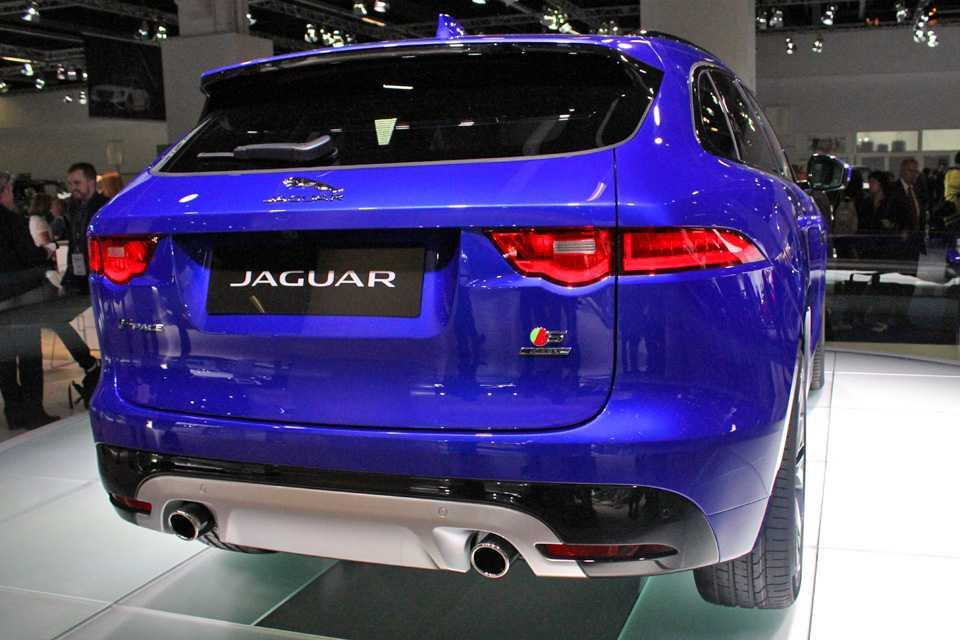 Jaguar F-Pace em Frankfurt