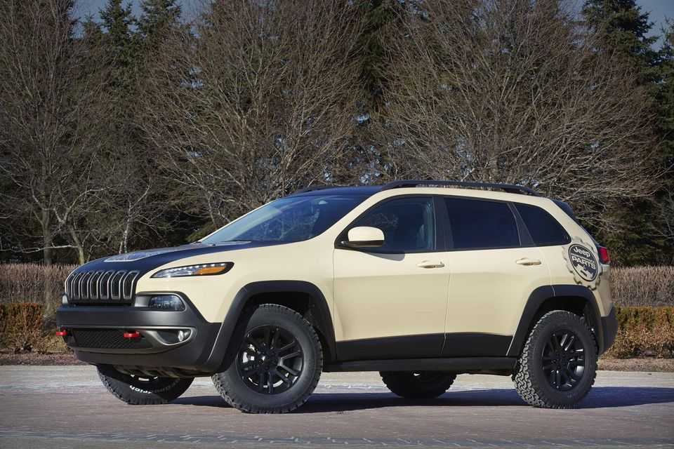 Jeep Cherokee Canyon Trail