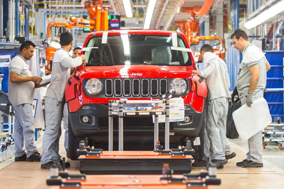 Primeiro Jeep Renegade foi concluído em Goiana, Pernambuco