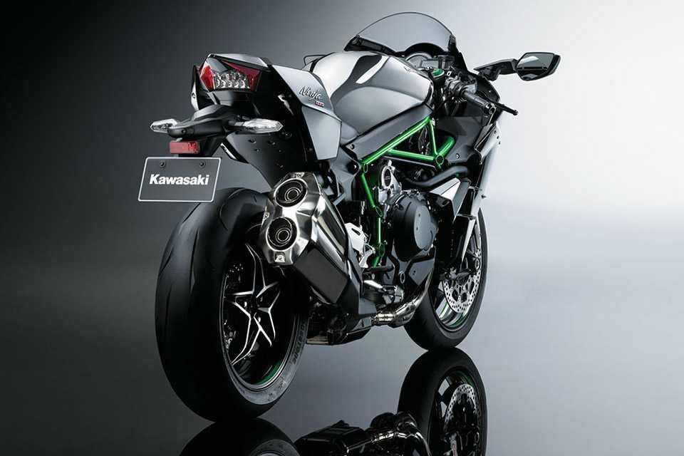 A Kawasaki Ninja H2 está chegando ao Brasil
