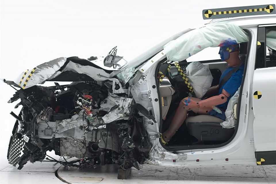 Kia Sorento 2015 nos testes de segurança do IIHS