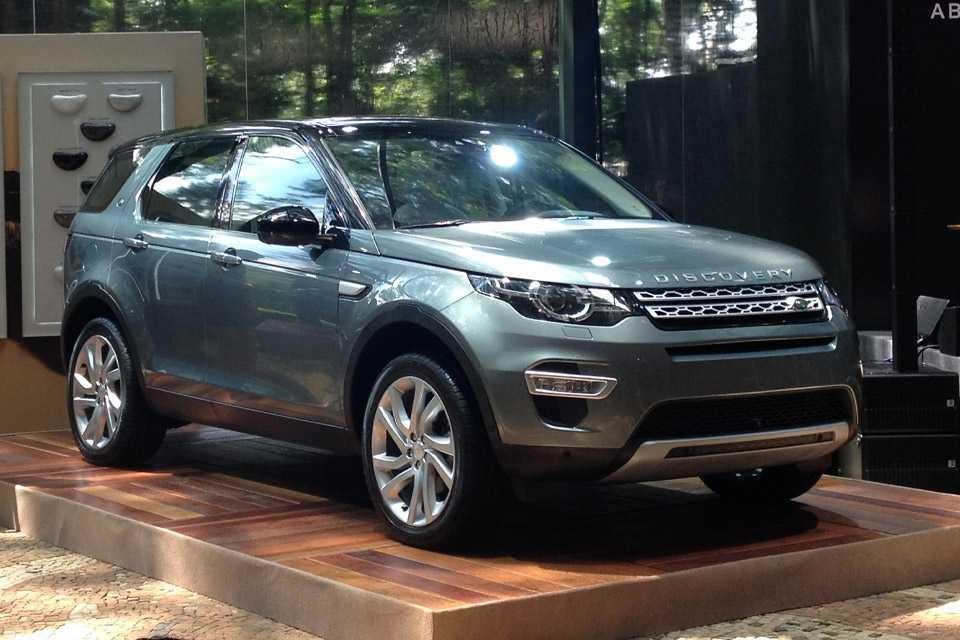 Land Rover Discovery Sport é lançado no Brasil