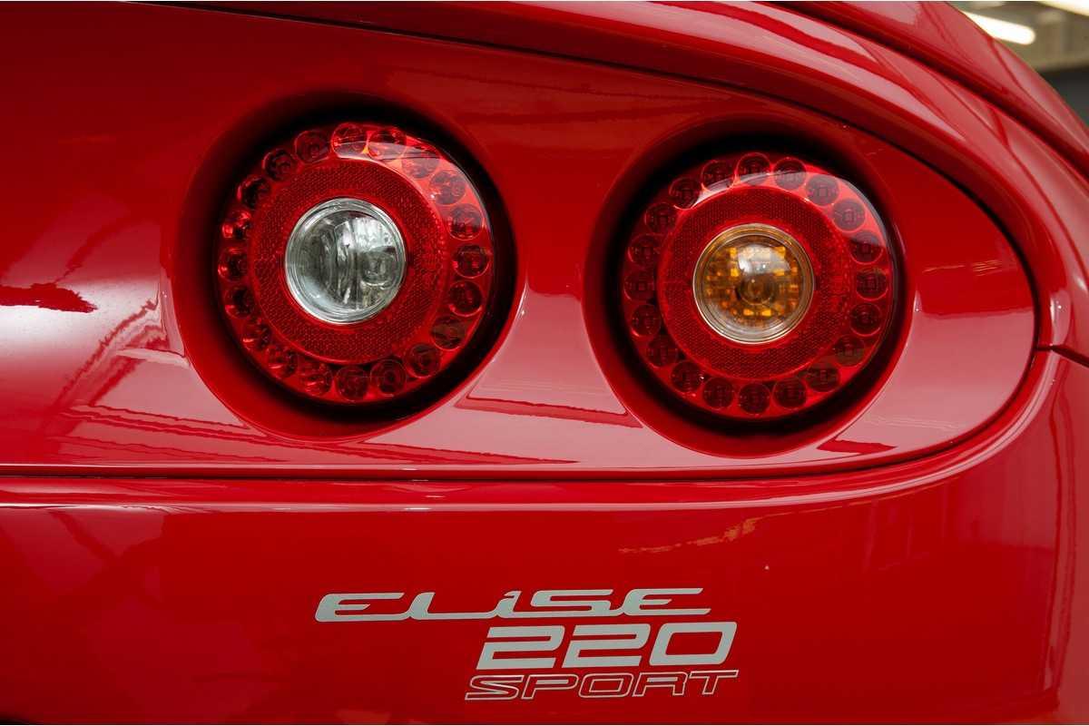 Lotus Elise Sport 220