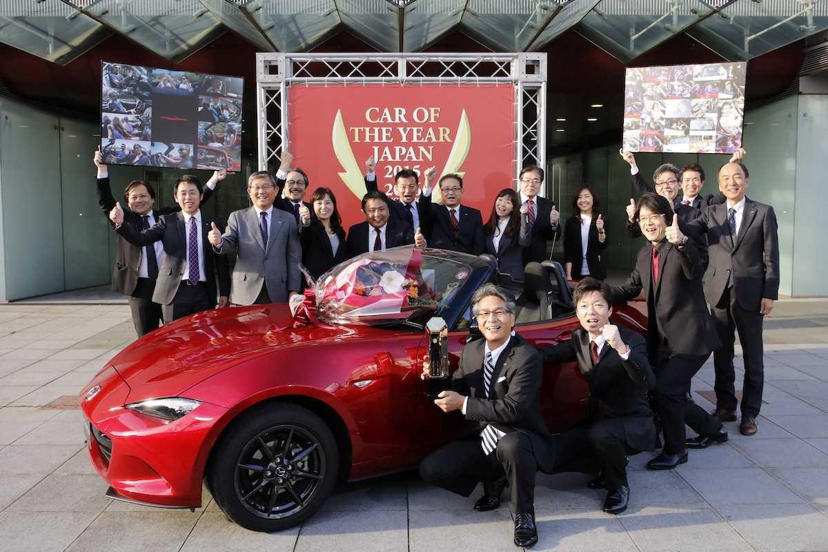 Mazda MX-5 no prêmio Carro do Ano no Japão
