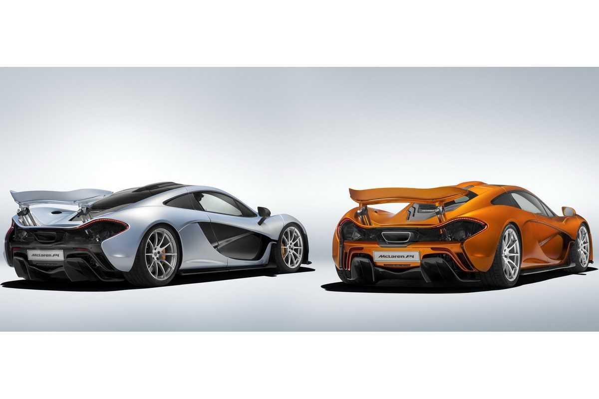 Primeiro e último McLaren P1