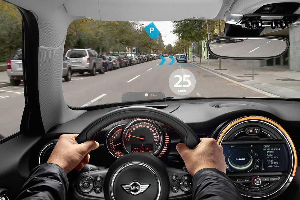 O óculos informa em tempo real dados do veículo, trânsito e navegação
