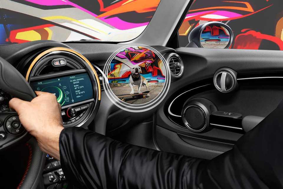 Visão de raio-x permite que o motorista veja além do carro