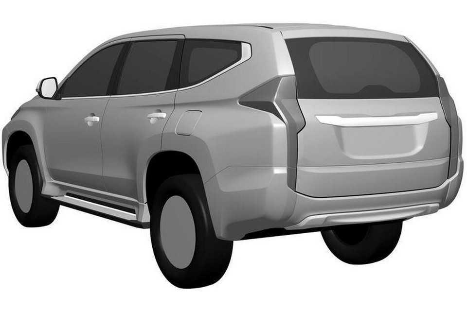 Mitsubishi Pajero Dakar 2016 em imagens de patente