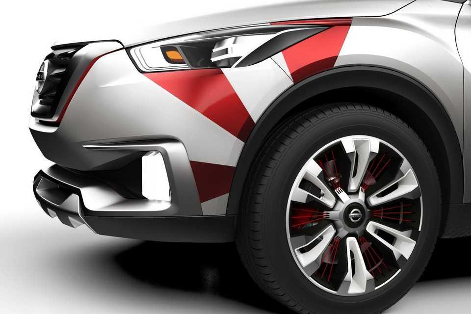Nissan Kicks Concept com decoração especial para o carnaval