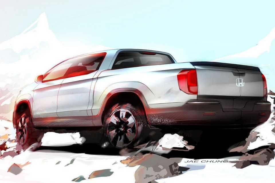Teaser da nova geração da picape Honda Ridgeline