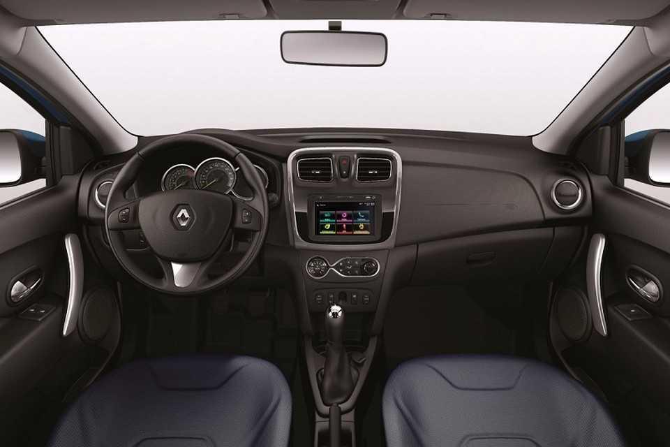 Renault Sandero 2016 com o sistema Media NAV Evolution