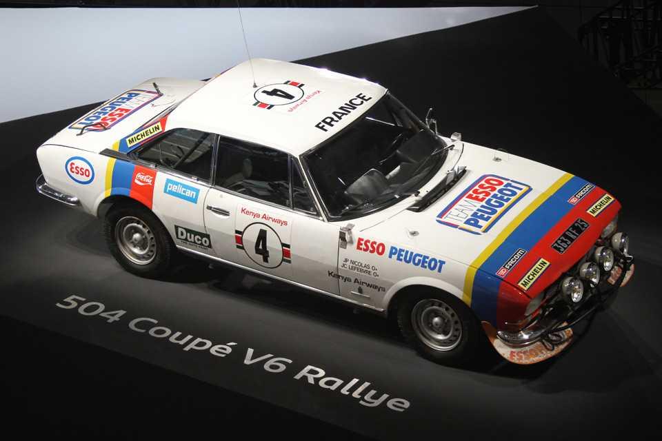Peugeot 504 Coupé V6 Rallye de 1078