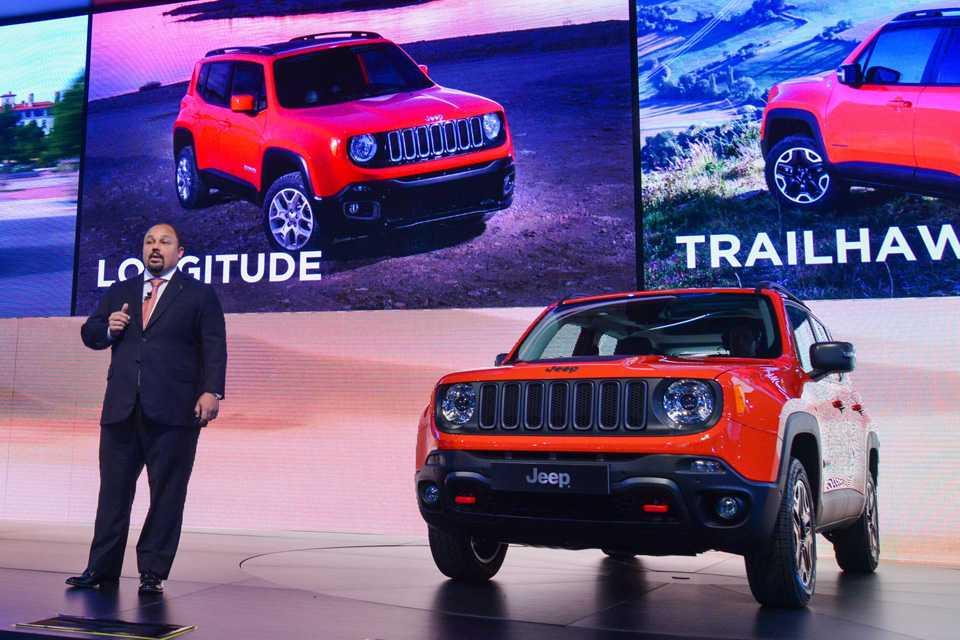 Sérgio Ferreira, diretor geral da Jeep no Brasil: meta ambiciosa para o mercado de SUVs