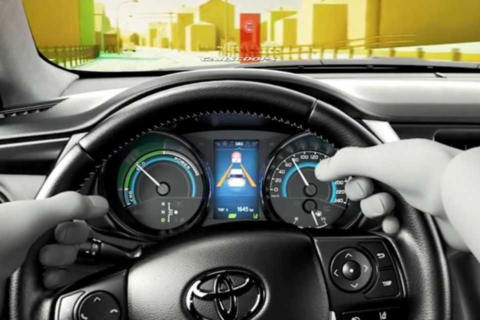 Toyota Corolla 2016 com face-lift para o mercado europeu