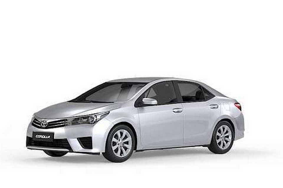 Toyota Corolla GLi com calotas