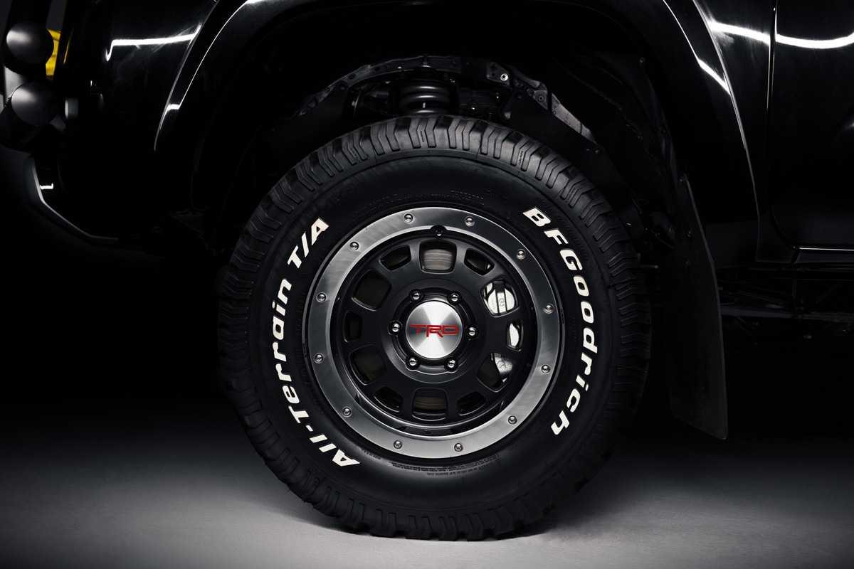 As rodas foram desenhadas pela Toyota Racing Development