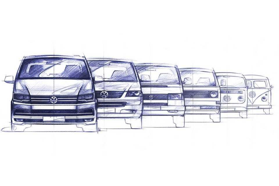 Gerações do Volkswagen Transporter