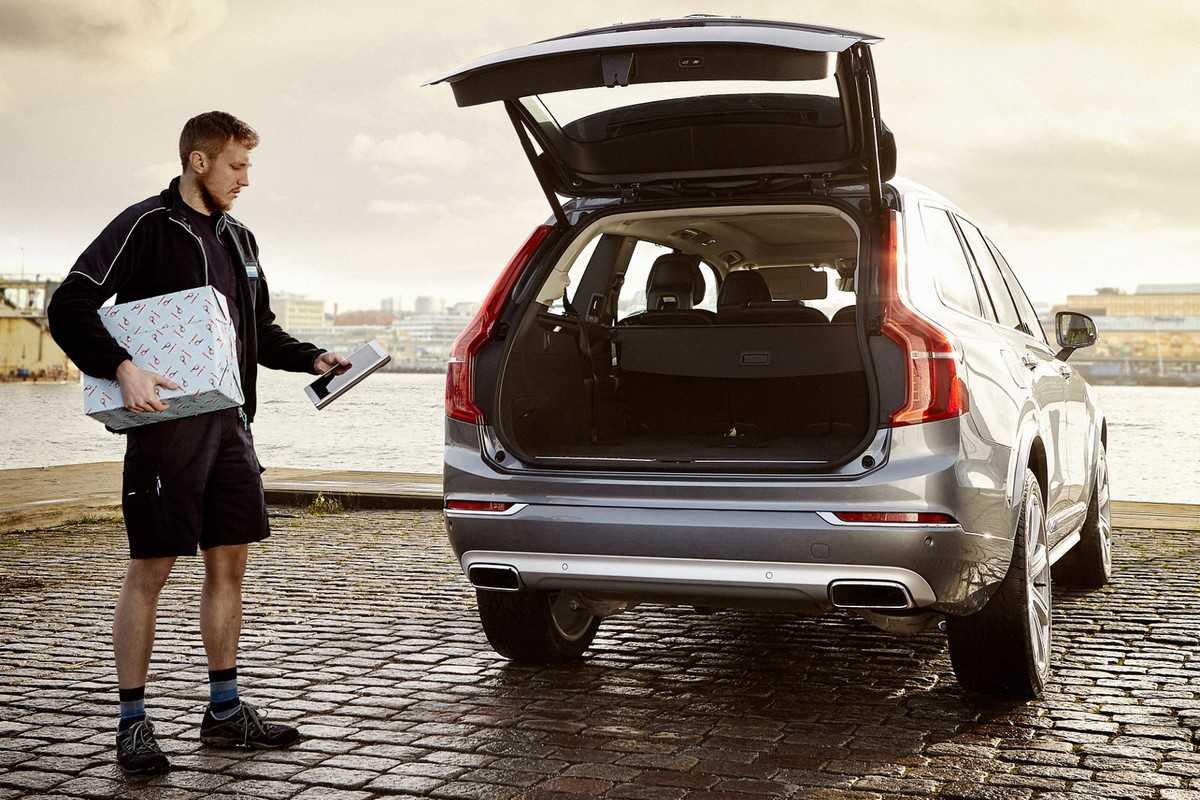 Sistema de entregas in-car da Volvo