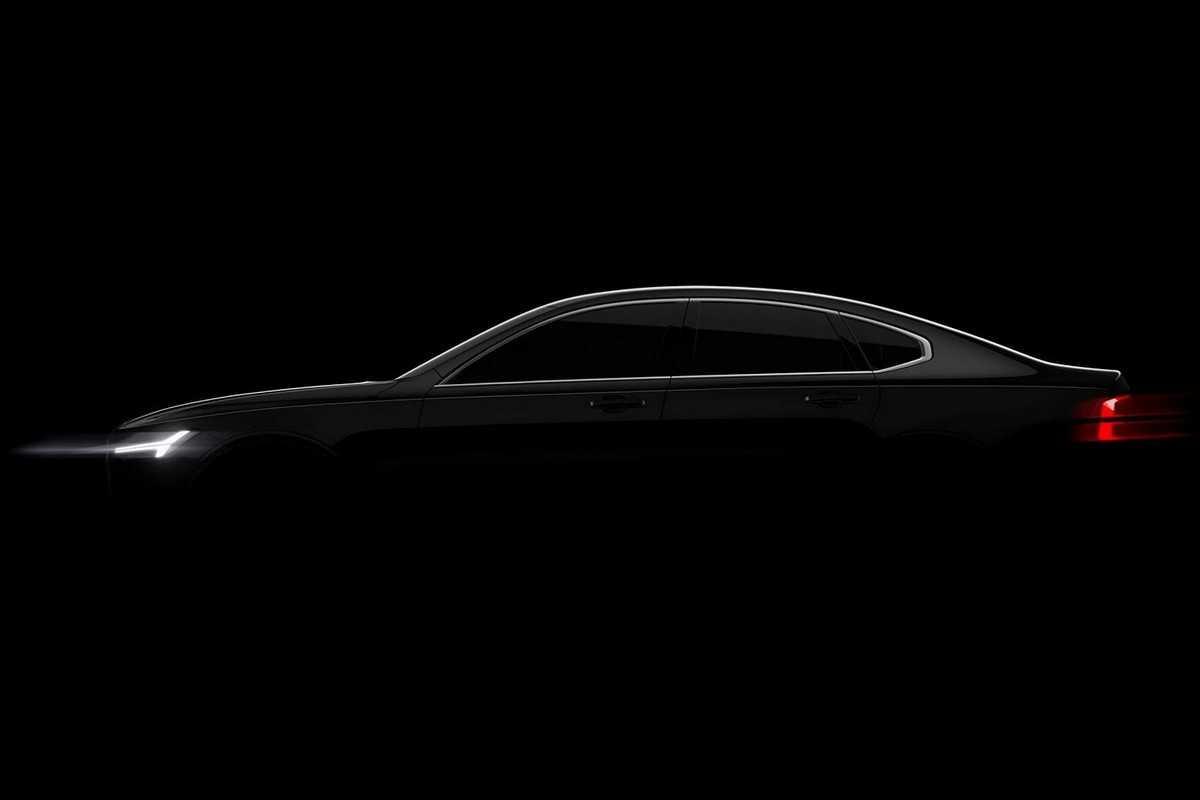 Teaser do novo Volvo S90