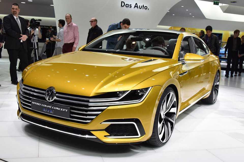 Volkswagen Sport Coupe Concept GTE em Genebra