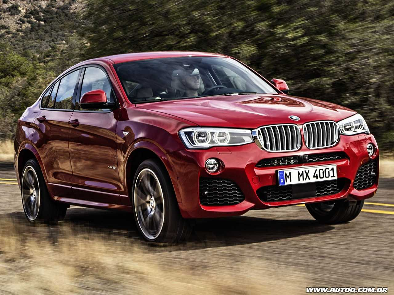 BMW X4 2014 - ângulo frontal