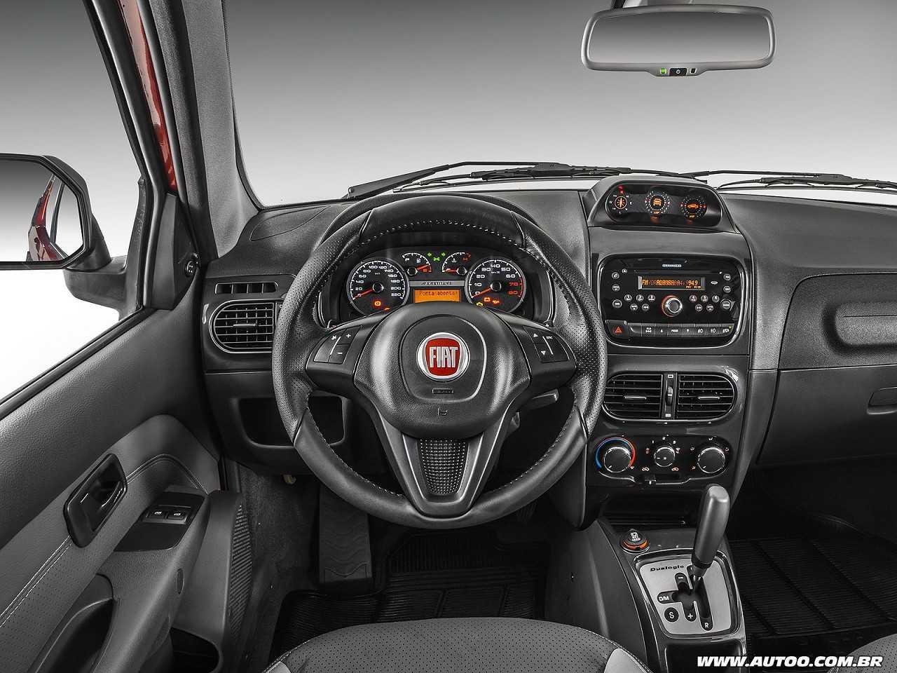 FiatStrada 2016 - painel