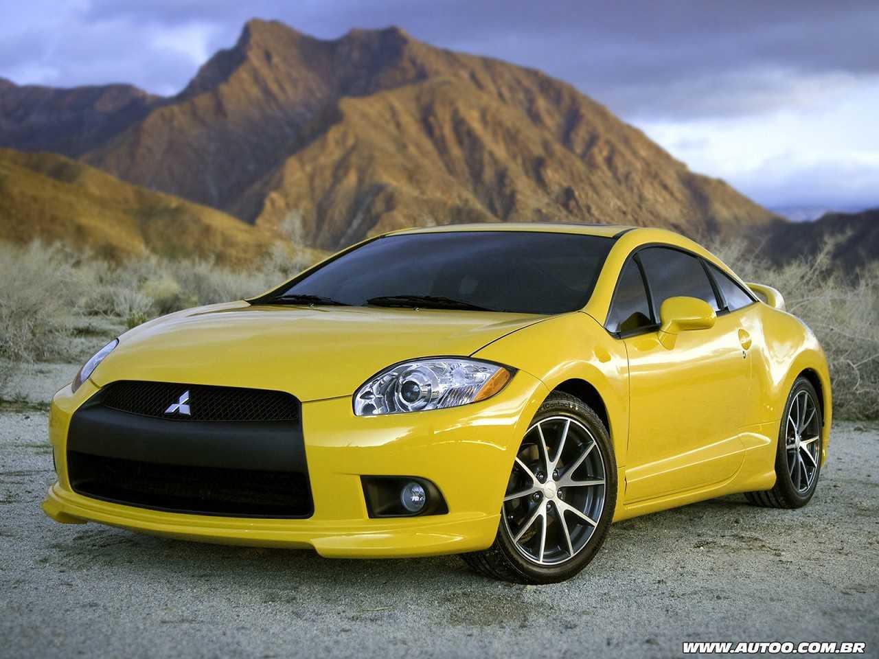MitsubishiEclipse GT 2009 - ângulo frontal