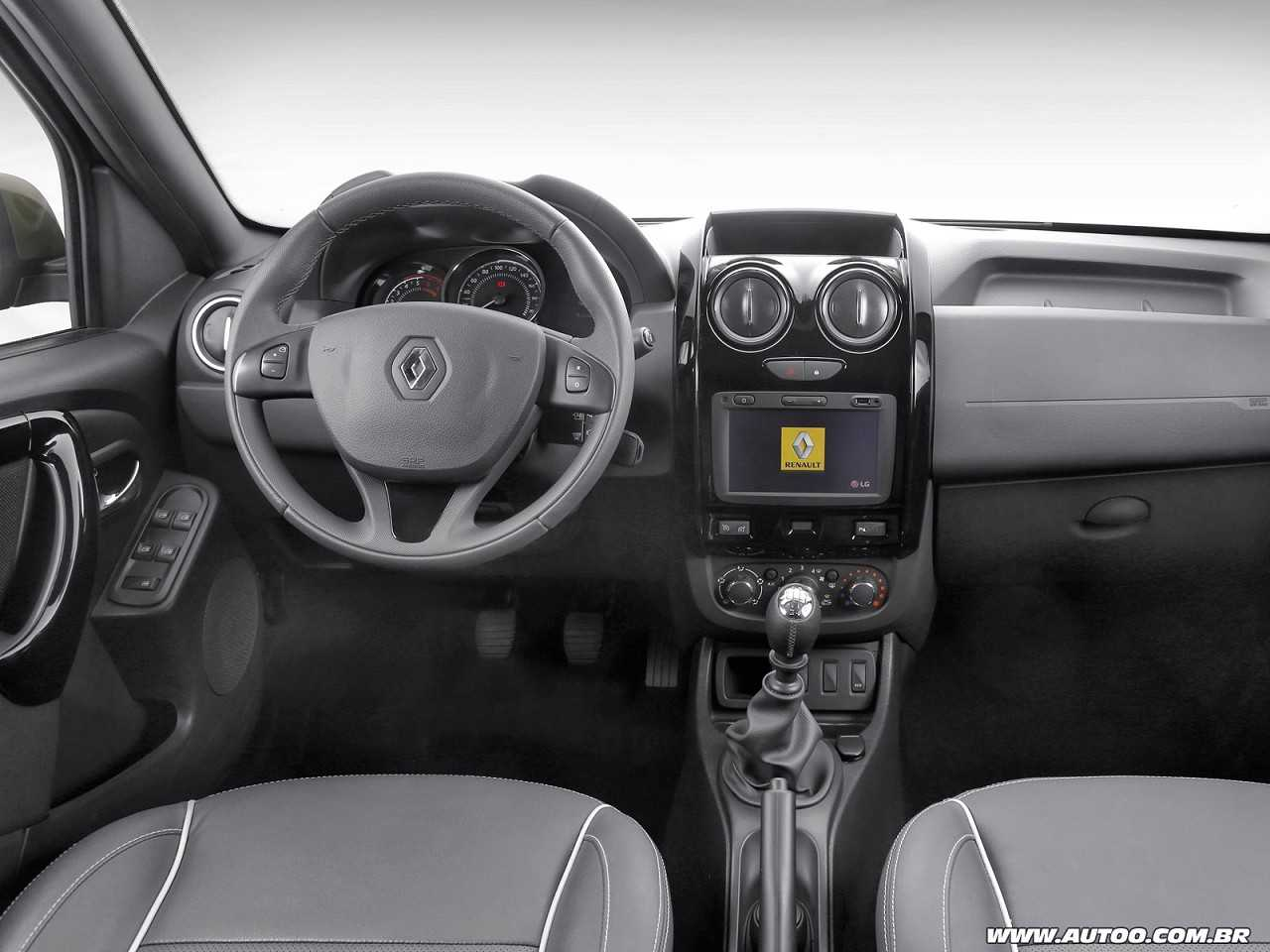 RenaultOroch 2016 - painel