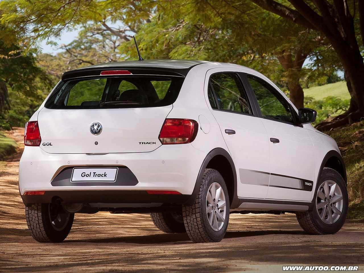 VolkswagenGol 2016 - ângulo traseiro