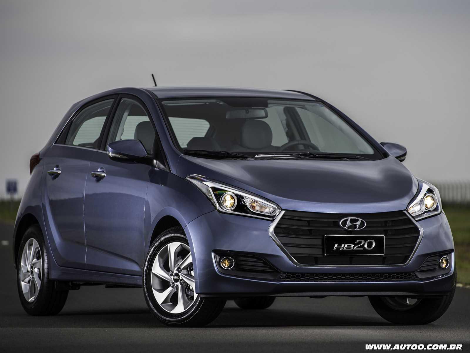 HyundaiHB20 2016 - ângulo frontal
