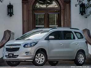 Alternativas entre Chevrolet Spin e Honda HR-V
