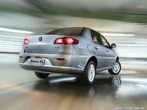 Fiat Siena de primeira gera��o sai de cena