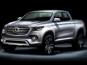 Picape m�dia da Mercedes-Benz poder� ser revelada no Sal�o de S�o Paulo