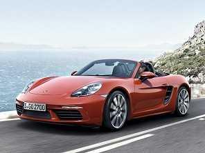 Porsche lança novo 718 Boxster com motor central de quatro cilindros