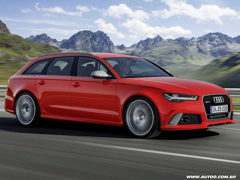 AudiRS 6 Avant 2015 - ângulo frontal
